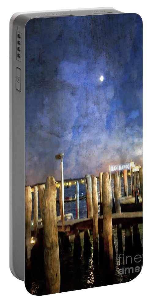 San Marco Portable Battery Charger featuring the photograph San Marco Dream by Madeline Ellis