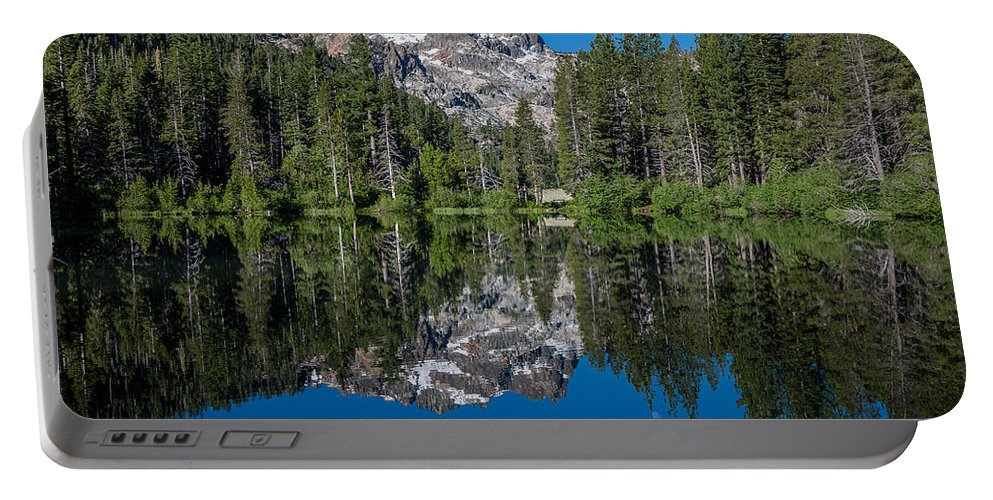 Sierra Portable Battery Charger featuring the photograph Sand Pond by Greg Nyquist