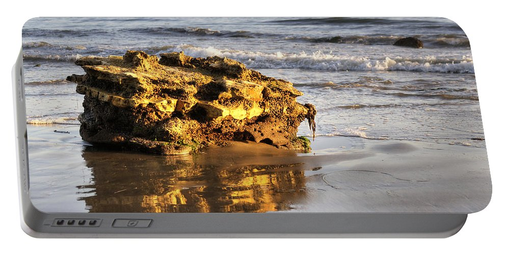 Shore Portable Battery Charger featuring the photograph Santa Barbara 5 by Jessica Velasco