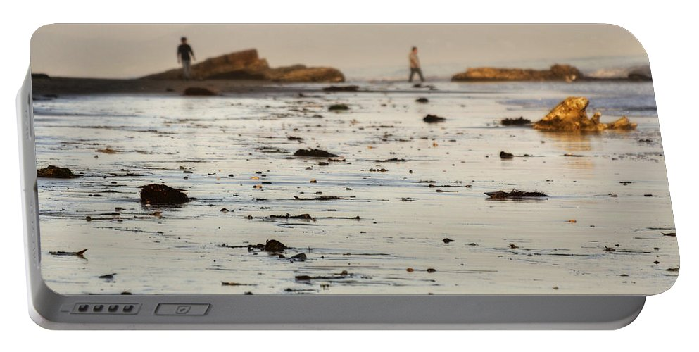 Shore Portable Battery Charger featuring the photograph Santa Barbara 8 by Jessica Velasco