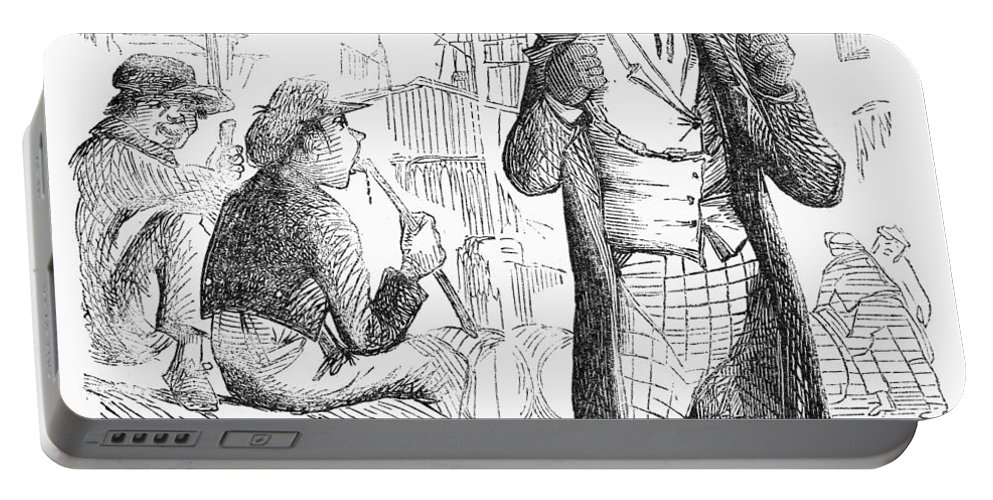 1861 Portable Battery Charger featuring the photograph Secession Crisis, 1861 by Granger