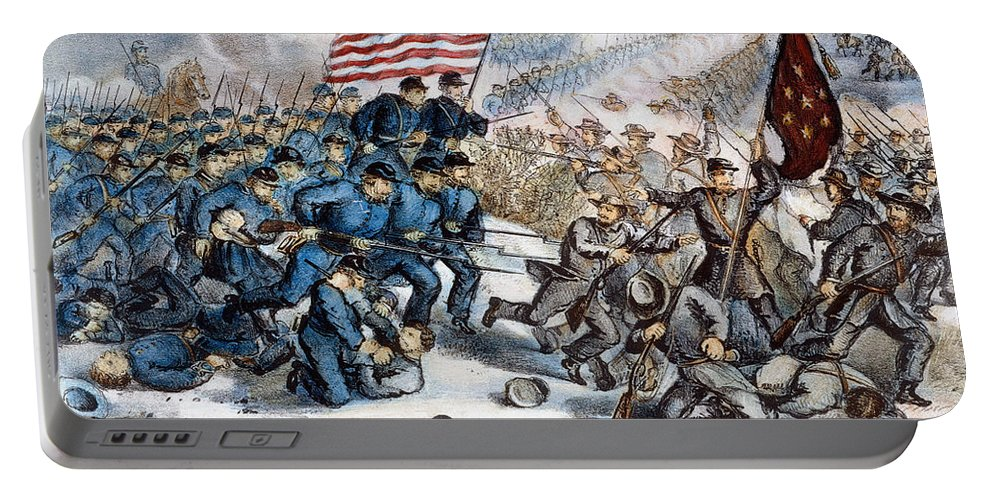 1862 Portable Battery Charger featuring the photograph Second Bull Run, 1862 by Granger