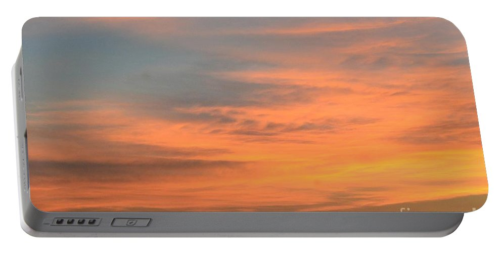 September 27 2012 Sunrise Portable Battery Charger featuring the photograph September 27 2012 Sunrise by Maria Urso