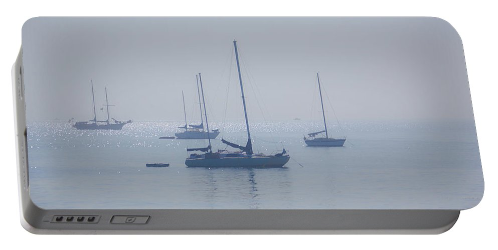 Rich Portable Battery Charger featuring the photograph Ships by Ralf Kaiser