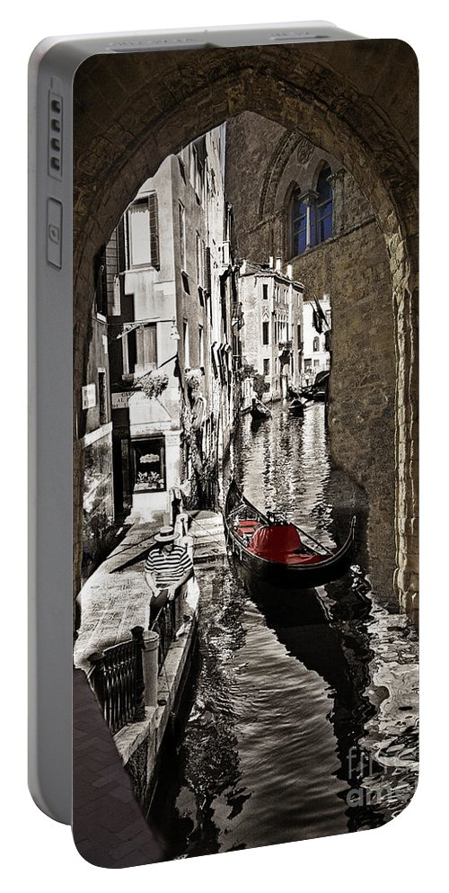 Sicily Portable Battery Charger featuring the photograph Sicily Meets Venice by Madeline Ellis
