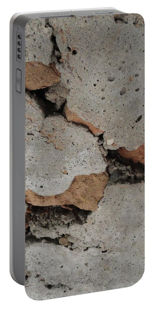 Rock Portable Battery Charger featuring the photograph Sideways Glance by Shannon Grissom