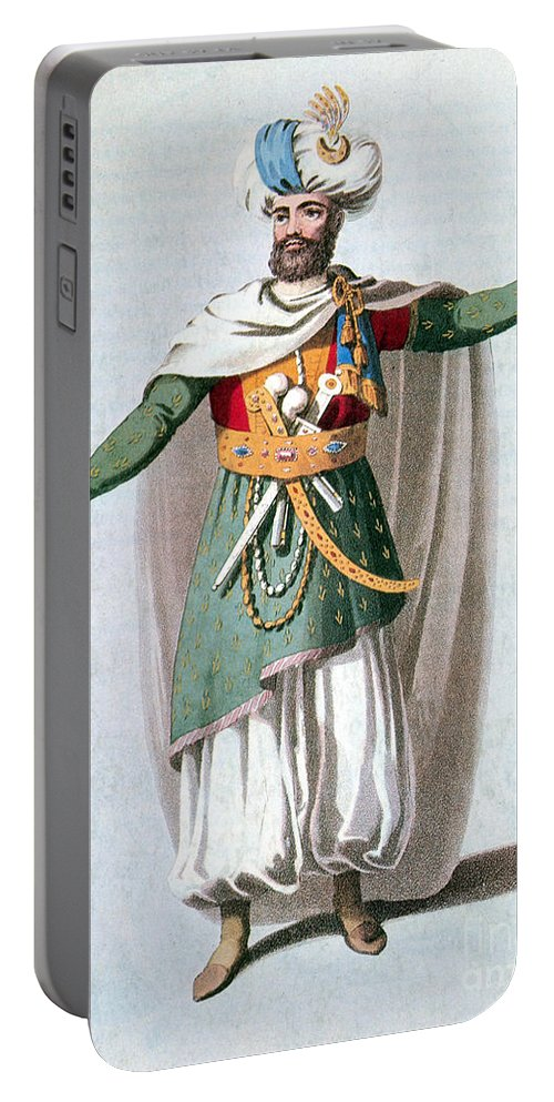 History Portable Battery Charger featuring the photograph Sidy Hafsan, Bey Of Tripoli, 1816 by Photo Researchers