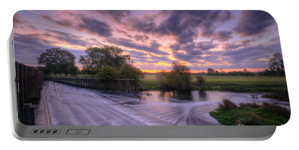 Hdr Portable Battery Charger featuring the photograph Silky Steps by Yhun Suarez
