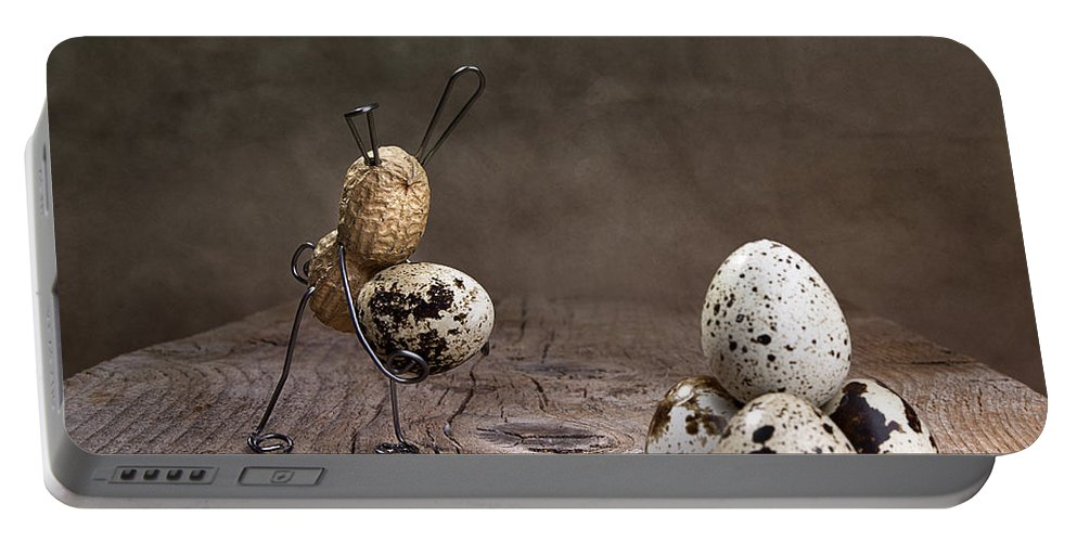 Easter Portable Battery Charger featuring the photograph Simple Things Easter 07 by Nailia Schwarz