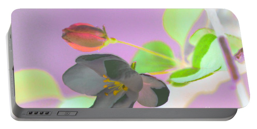 Flower Portable Battery Charger featuring the photograph Simplicity by Optical Playground By MP Ray