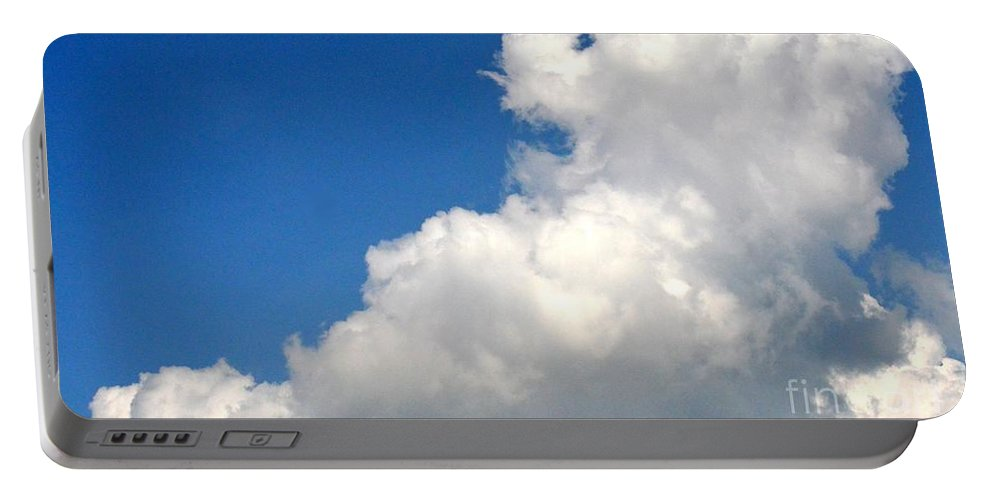 Sleeping Bear Cloud Portable Battery Charger featuring the photograph Sleeping Bear Cloud by Maria Urso