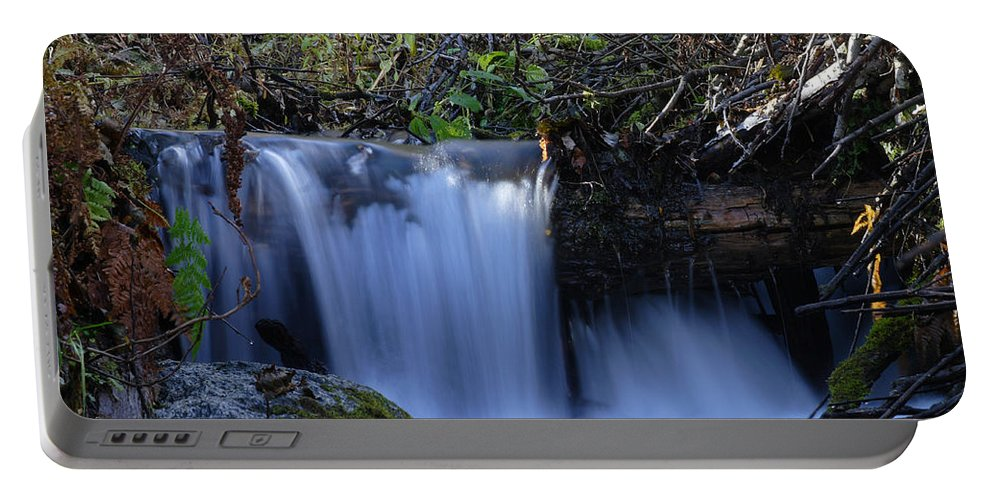 Doug Lloyd Portable Battery Charger featuring the photograph Small Falls by Doug Lloyd