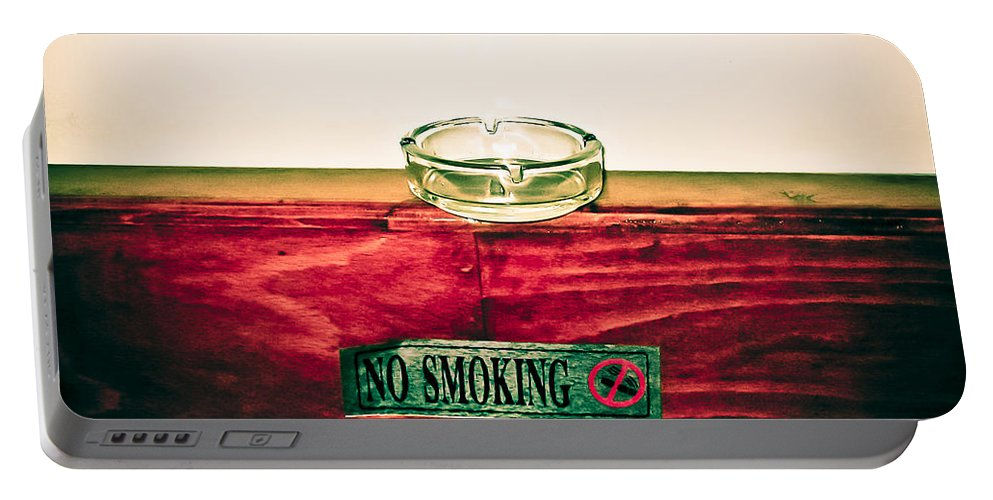 Egypt Portable Battery Charger featuring the photograph Smoking Mixed Messages by Darcy Michaelchuk