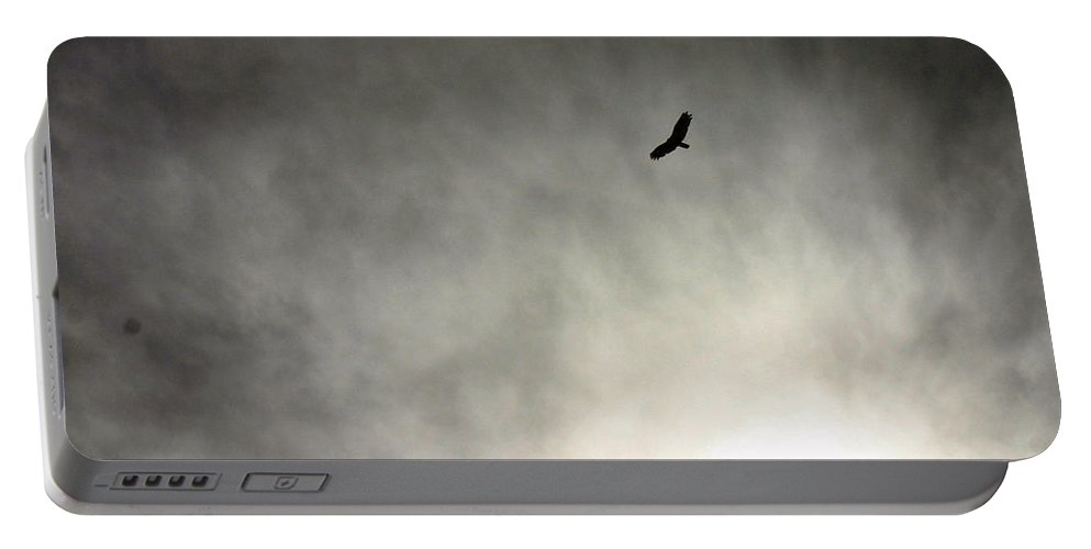 Bird Portable Battery Charger featuring the photograph Soaring by David Rucker