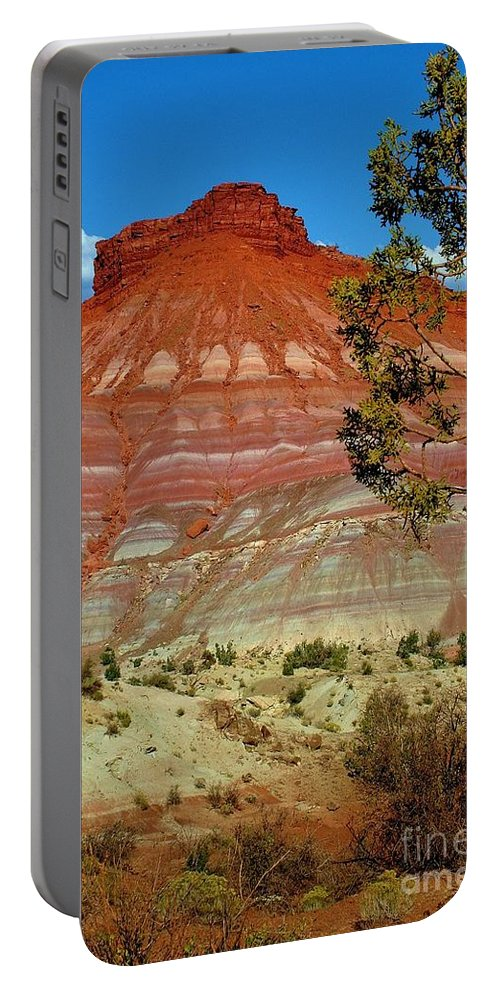 Mountain Portable Battery Charger featuring the photograph Solitude by Ellen Heaverlo