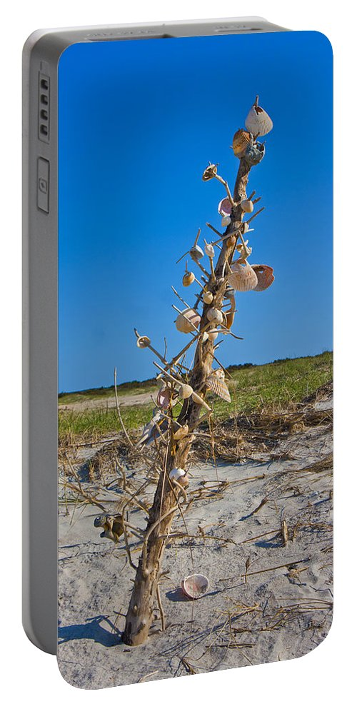 Shells Portable Battery Charger featuring the photograph Sos 5 by Betsy Knapp