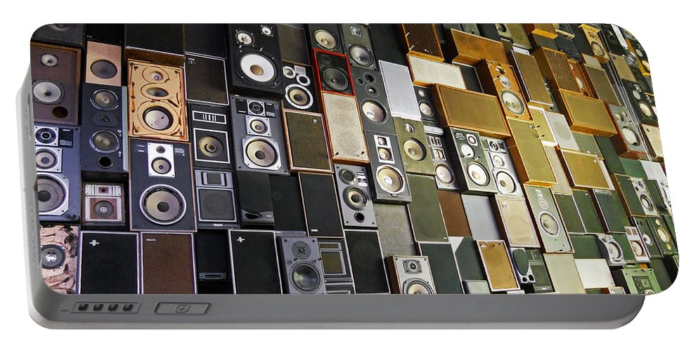 Music Portable Battery Charger featuring the photograph Sound Of Music ... by Juergen Weiss