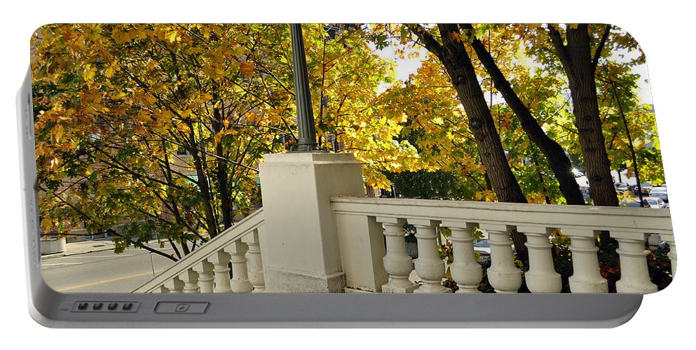 Tacoma Portable Battery Charger featuring the photograph Spanish Steps II by Tikvah's Hope
