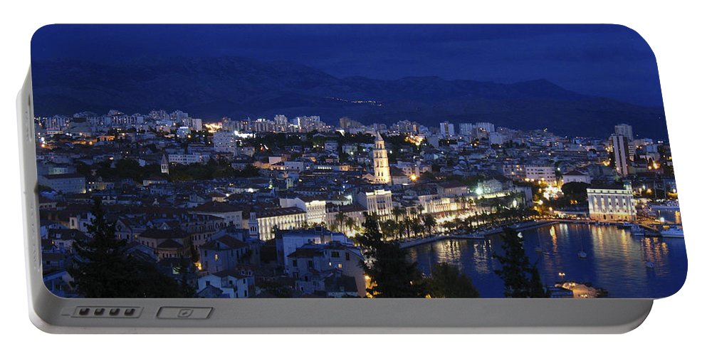 Split Portable Battery Charger featuring the photograph Split Croatia by David Gleeson