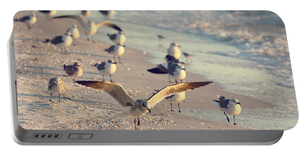 Nature Portable Battery Charger featuring the photograph Spread Your Wings by Kim Hojnacki