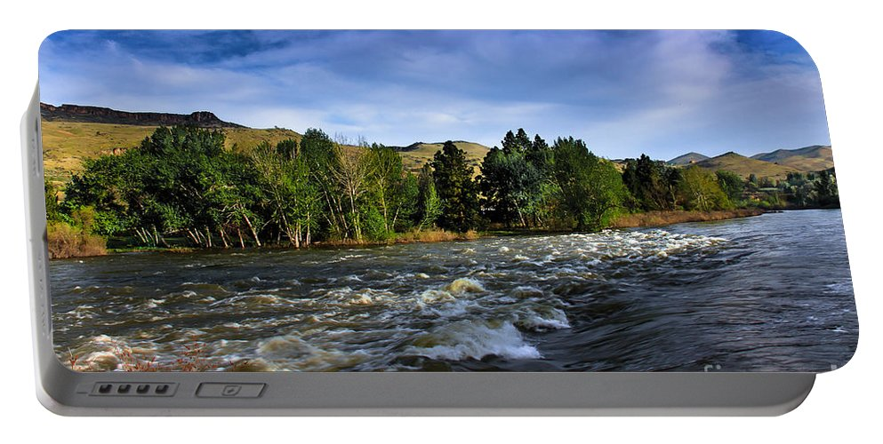 Emmett Portable Battery Charger featuring the photograph Spring Flow by Robert Bales