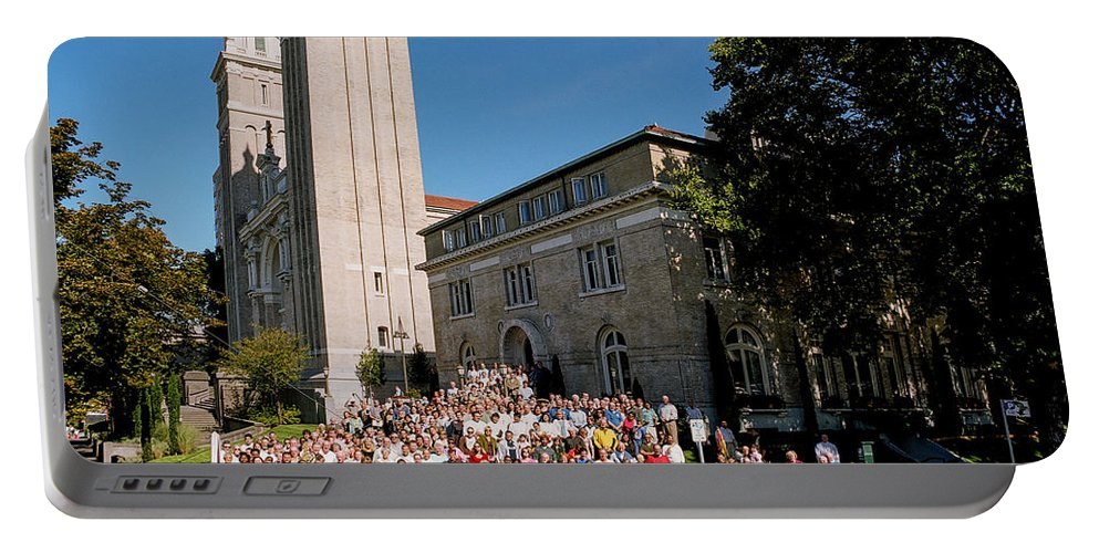 St James Cathedral Portable Battery Charger featuring the photograph St James Cathedral 2007 by Mike Penney