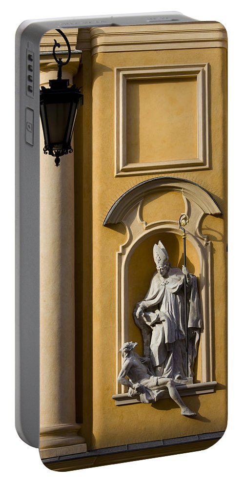 Baroque Portable Battery Charger featuring the photograph St Martin's Church Architectural Details by Artur Bogacki