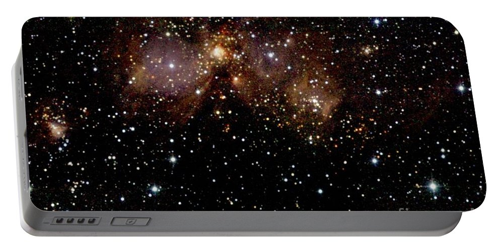 2mass Imagery Portable Battery Charger featuring the photograph Star Forming Regions by 2MASS project / NASA