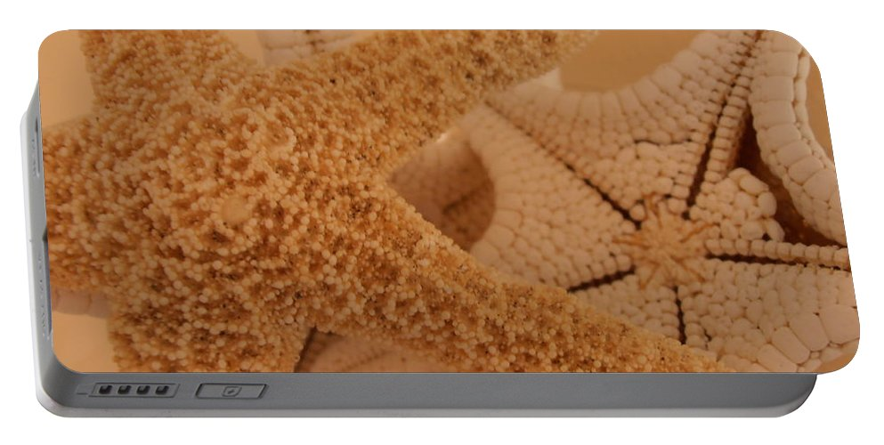 Starfish Portable Battery Charger featuring the photograph Starfish by Kimberly Perry