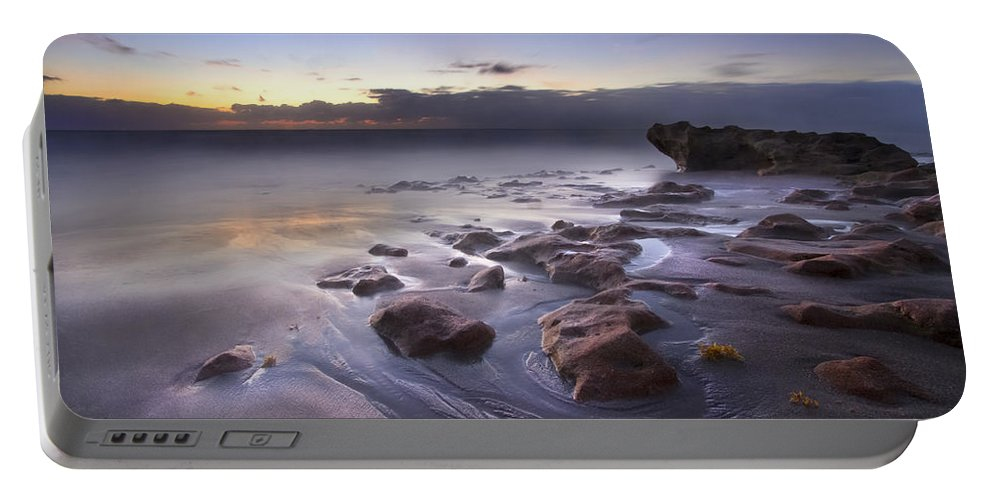 Blowing Rocks Portable Battery Charger featuring the photograph Stepping Stones by Debra and Dave Vanderlaan