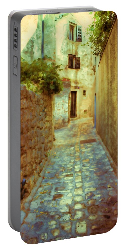 Stone Portable Battery Charger featuring the photograph Stones And Walls by Jasna Buncic
