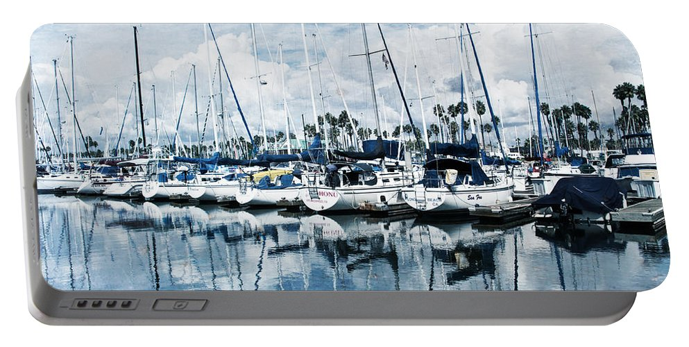 Amazing Portable Battery Charger featuring the photograph Stormy Blues by Heidi Smith