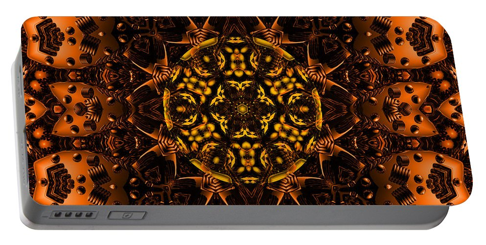 Copper Portable Battery Charger featuring the digital art Sublime by Robert Orinski