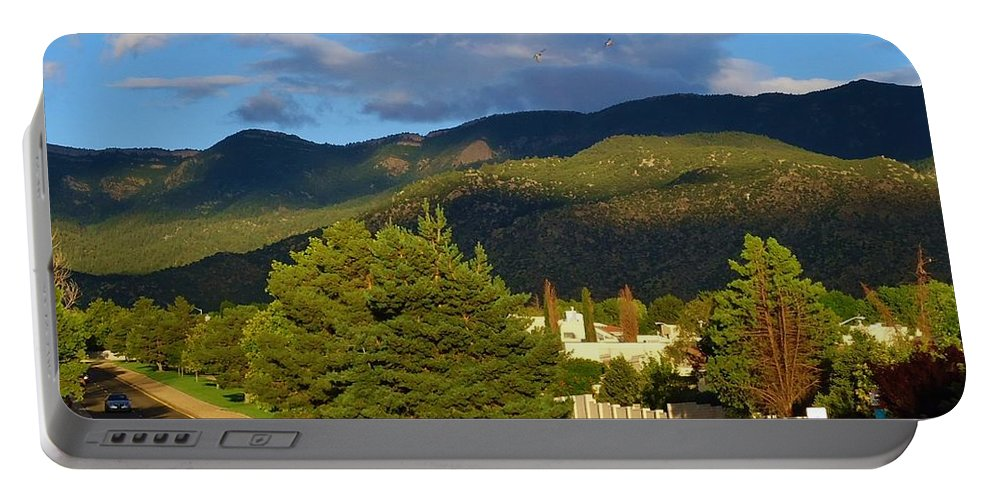 Landscape Portable Battery Charger featuring the photograph Summer Beauty by Lois  Rivera