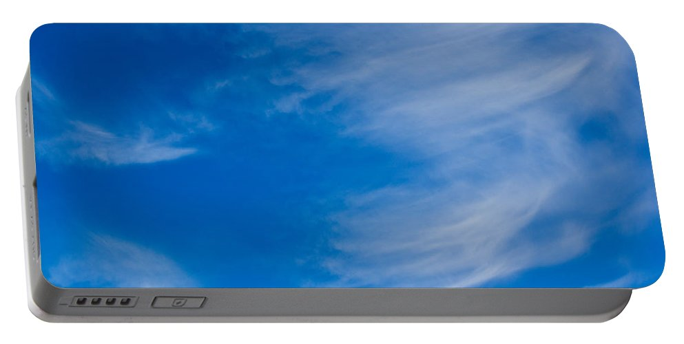 Clouds Portable Battery Charger featuring the photograph Summer Cloud Images by David Pyatt