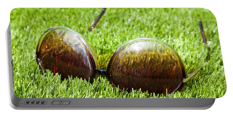 Artificial Turf Portable Battery Charger featuring the photograph Summer by Semmick Photo