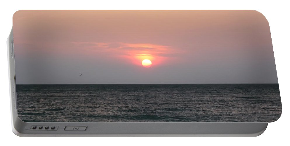 Florida Portable Battery Charger featuring the photograph Sunset - Florida Style by Bill Cannon