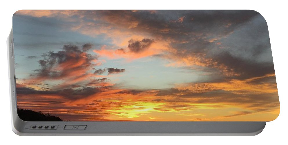Sunset Portable Battery Charger featuring the photograph Sunset by Marlene Challis