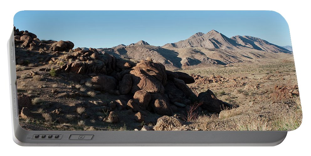Gold Butte Region Portable Battery Charger featuring the photograph Sunspot Hill by Lorraine Devon Wilke