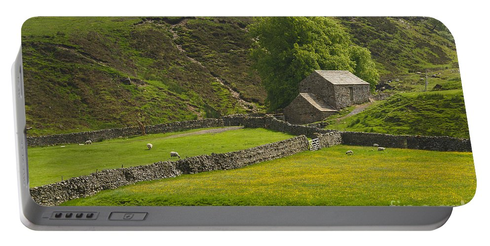 Field Portable Battery Charger featuring the photograph Swaledale by Louise Heusinkveld