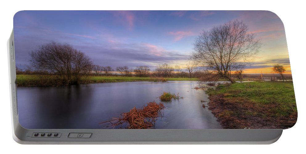 Hdr Portable Battery Charger featuring the photograph Swampy 3.0 by Yhun Suarez