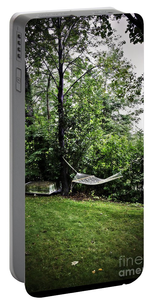 Swing Portable Battery Charger featuring the photograph Swing Time by Madeline Ellis