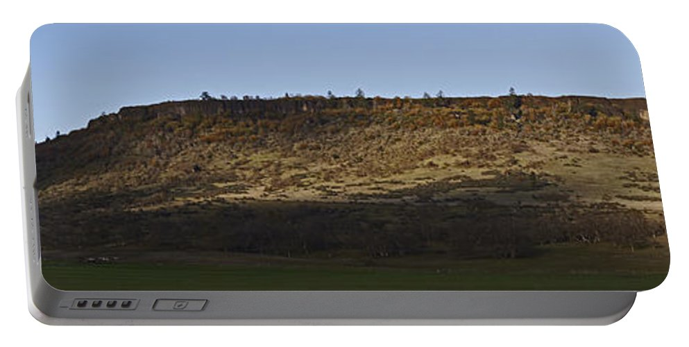 Table Rock Portable Battery Charger featuring the photograph Table Rock Panorama by Mick Anderson
