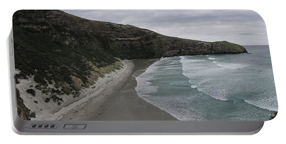 Taiaroa Head Portable Battery Charger featuring the photograph Taiaroa Head Nz by C H Apperson