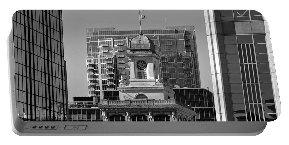 Tampa Courthouse Building Portable Battery Charger featuring the photograph Tampa Courthouse 1905 by David Lee Thompson