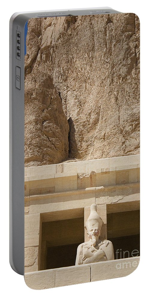 Egypt Portable Battery Charger featuring the photograph Temple Of Hatshepsut by Darcy Michaelchuk