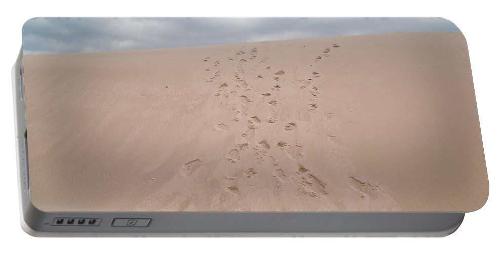 Dune Portable Battery Charger featuring the photograph The Buffalo Dune by Guy Whiteley