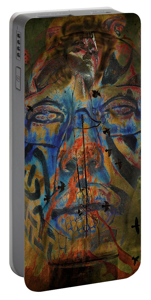 Aces Portable Battery Charger featuring the photograph The Change Of Faces by The Artist Project