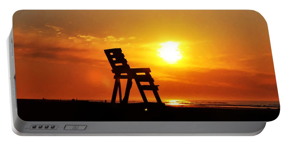 The End Of The Summer Portable Battery Charger featuring the photograph The End Of The Summer by Bill Cannon
