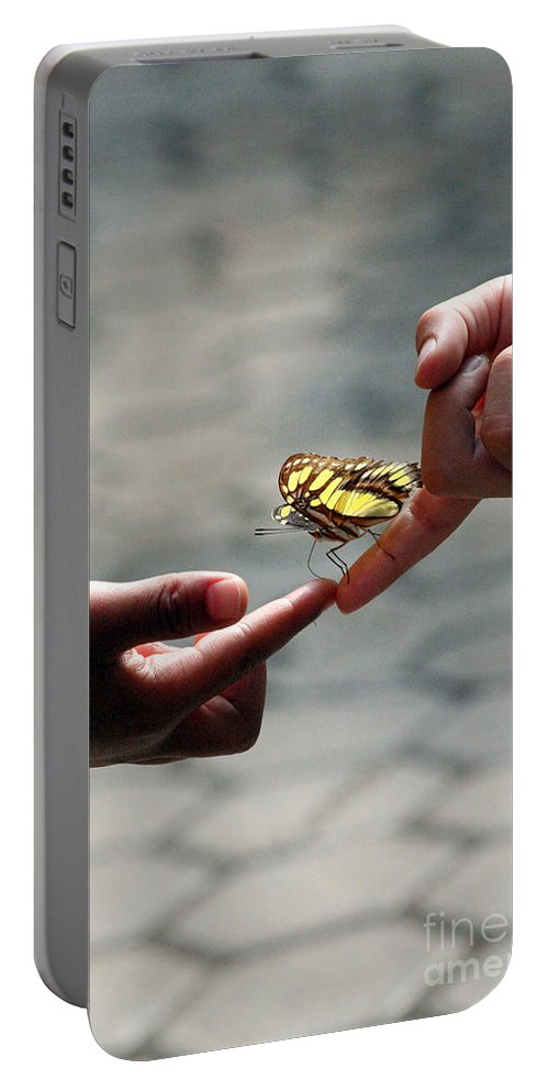 All Portable Battery Charger featuring the photograph The Lord God Loves Them All by Alycia Christine